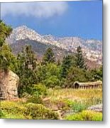 The Mountains Above Metal Print