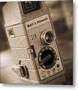 The Movie Camera Metal Print by Mike McGlothlen