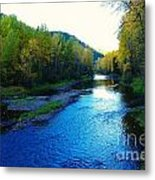 The Moyie River Near Yak B C Metal Print