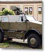 The Multi-purpose Protected Vehicle Metal Print