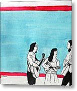The Music Makers Metal Print