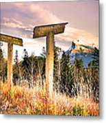 The Names Of The Mountains Metal Print