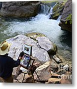 The Narrows Quality Time Metal Print