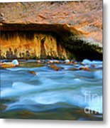 The Narrows Virgin River Zion 4 Metal Print