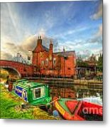 The Navigation Metal Print