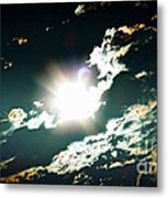 The Night Of The Eclipse Metal Print