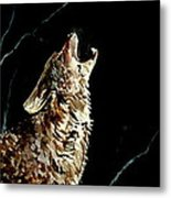 The Night Of The Wolf Metal Print