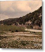 The Nueces River II Metal Print