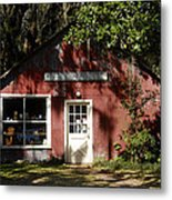 The Old Antique Store Metal Print