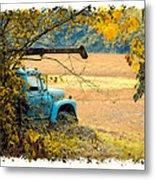 The Old Boom Truck Metal Print