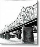 The Old Bridges At Memphis Metal Print