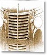 The Old Chevrolet Metal Print