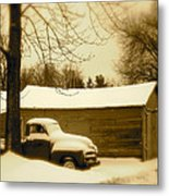 The Old Chevy Metal Print
