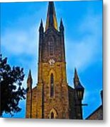 The Old Church At Donegal Town Metal Print