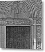 The Old Church Doors Metal Print