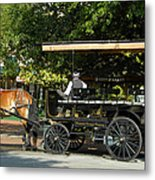 The Old City Market Metal Print