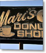 The Old Donut Shop Metal Print