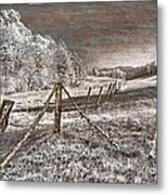 The Old Farm Metal Print