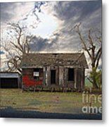 The Old Farm House In My Dreams Metal Print by Wingsdomain Art and Photography