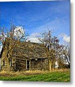 The Old Farm House Metal Print