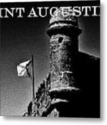 The Old Fort Metal Print