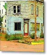 The Old Four-square Metal Print by MJ Olsen