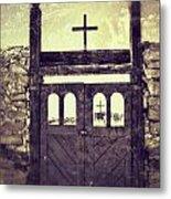 The Old Galisteo Cemetery Metal Print
