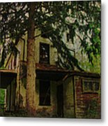 The Old House Where Nobody Lives Metal Print