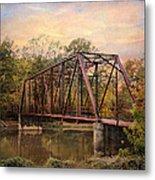 The Old Iron Bridge Metal Print