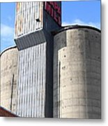 The Old Napa Mill In Napa California Wine Country Metal Print