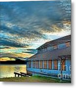 The Old Packing House Metal Print
