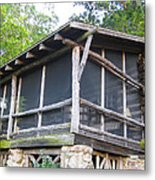 The Old Part Of The Cabin Metal Print