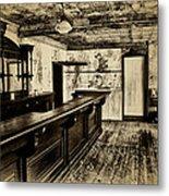 The Old Saloon Metal Print