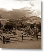 The Old West 1 Metal Print
