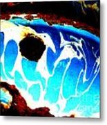 The Old Whale Metal Print