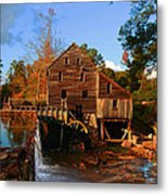 The Old Yates Mill Metal Print