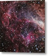 The Omega Nebula Metal Print