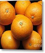 The Oranges Metal Print