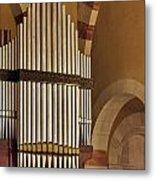the Organ Augusta Victoria Jerusalem Metal Print