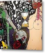 The Other Side Of Music Metal Print