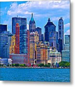 The Other Side Of The City Metal Print