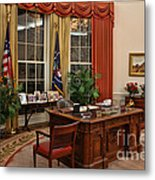 The Oval Office Metal Print