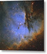 The Pacman Nebula Metal Print by Ken Crawford