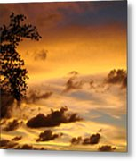The Painting Of The Creator Metal Print
