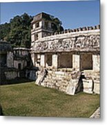 The Palace    Palenque Metal Print