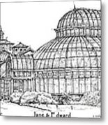 The Palm House For Jane And Edward Metal Print