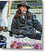 The Palm Reader Of New Orleans Metal Print