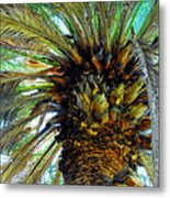 The Palm Metal Print