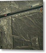 The Pan-american Highway Cuts Metal Print