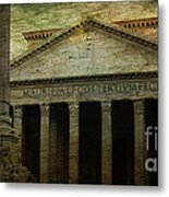 The Pantheon's Curse Metal Print